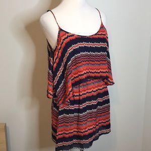 Parker Dresses - Parker zig zag cut out silk dress